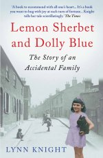 Paperback cover image Lemon Sherbet and Dolly Blue: The Story of an Accidental Family