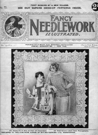Copy of Fancy Needlework Illustrated circa 1923