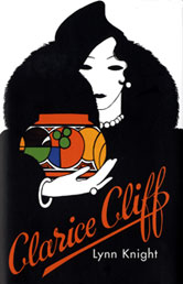 Clarice Cliff by Lynn Knight, book cover