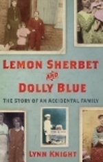 Hardback cover image Lemon Sherbet and Dolly Blue: The Story of an Accidental Family