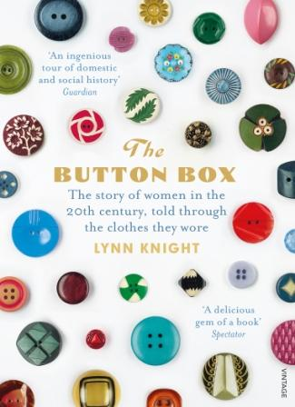 The Button Box: Lifting the Lid on Women's Lives book cover.  Author Lynn Knight